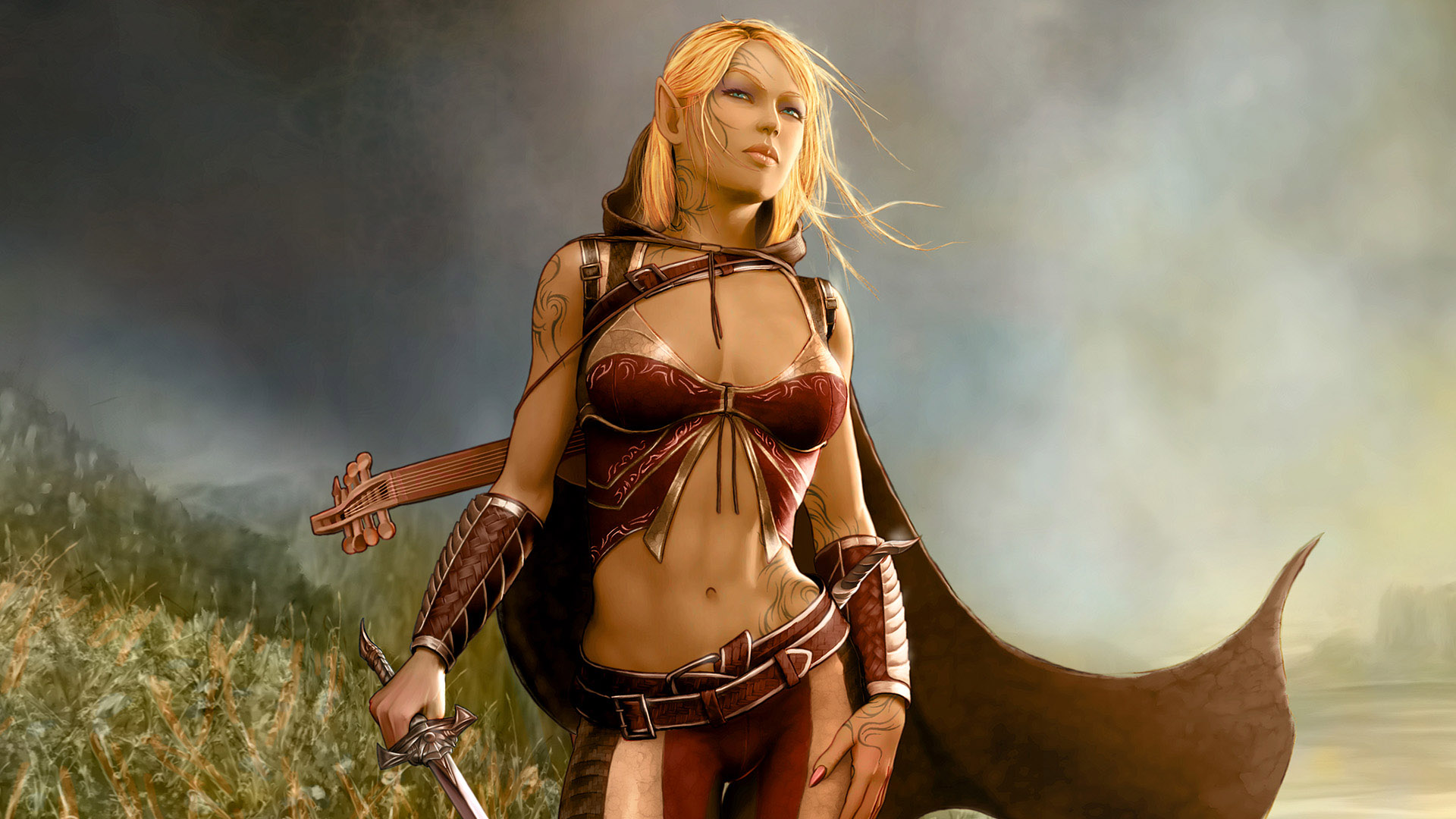 Sexy and seductive female vampire warrior pics fucking comic